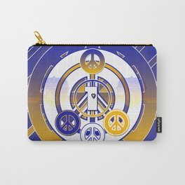 One Love (Blue) Carry-All Pouch