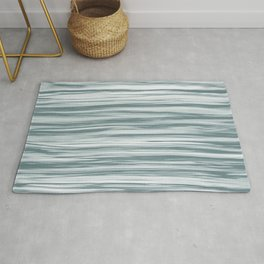 Blue-Green Watercolor Blend 2021 Color of the Year Aegean Teal 2136-40 Aqua Rug