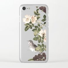 Blackberry Patch Clear iPhone Case
