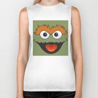 sesame street Biker Tanks featuring Sesame Street  by Jconner