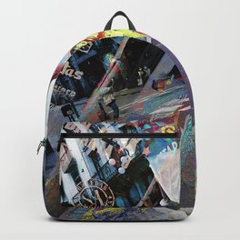 May your days be full with the brightest vigilance Backpack