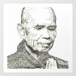 Thich Nhat Han Art Print
