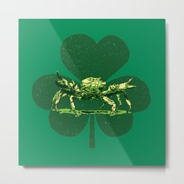 A Pinch o' Green Metal Print