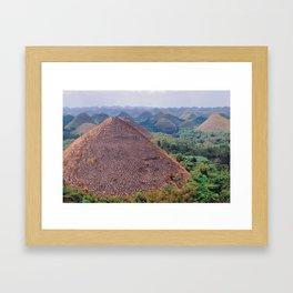 The Chocolate Hills Framed Art Print