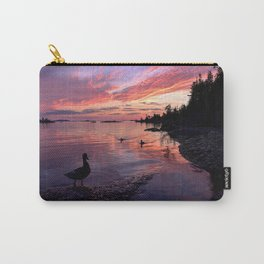 Ducks at Sunrise Carry-All Pouch