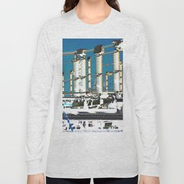 """Electric City"" Long Sleeve T-shirt"