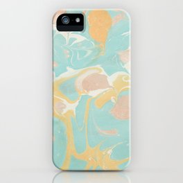 Marble 10 iPhone Case