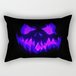 Blue Demon Nightmare Rectangular Pillow