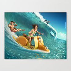 Big Wave Canvas Print