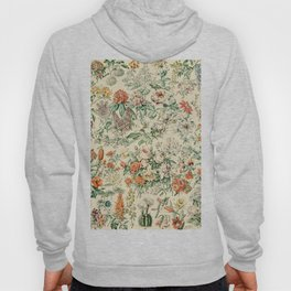 Wildflowers and Roses // Fleurs III by Adolphe Millot XL 19th Century Science Textbook Artwork Hoody