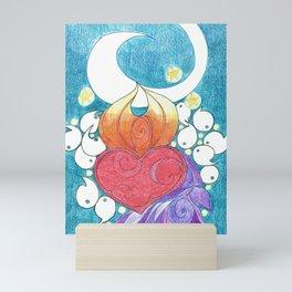 Space Tadpoles Mini Art Print