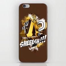 You Ain't A Lambda? SHEEESH!!! iPhone & iPod Skin