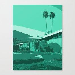 Twin Palms Canvas Print
