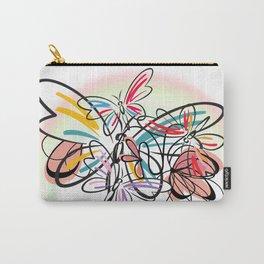 Schmetterlinge - butterflies Carry-All Pouch