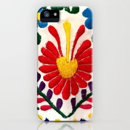 Red Mexican Flower iPhone Case
