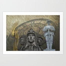 Landmarks 2 Art Print