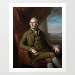 Thomas Willing Portrait - By Charles Willson Peale - 1782 Art Print