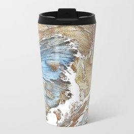 Woody Silver Travel Mug