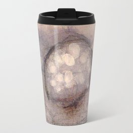 Lost Eye - Mixed Media Acrylic Abstract Modern Art, 2009 Travel Mug