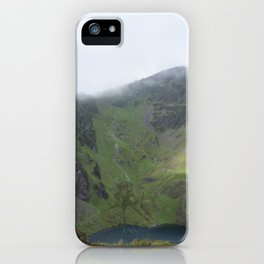 Wales Landscape 20 Cader Idris Mountain Lake iPhone Case