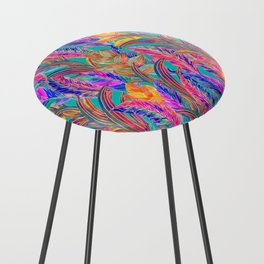 Tropic Exotic Counter Stool