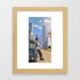 Luca's Day Off Framed Art Print