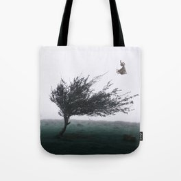 Pushing Tote Bag