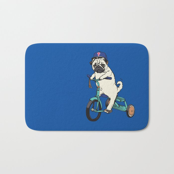 Haters Gonna Hate Phillies Bath Mat