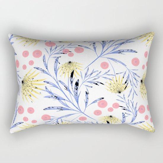 Abstract floral pattern. Rectangular Pillow