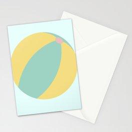 Cute Summer Beach Ball Stationery Cards