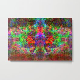 Kamana II (abstract, psychedelic, visionary) Metal Print