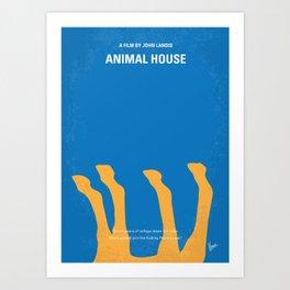 No230 My Animal House Art Print
