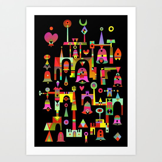 Harmony Chime Art Print