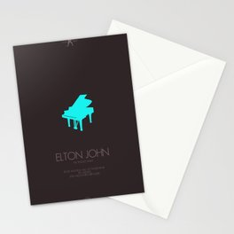 Musician Series - Elton John Stationery Cards