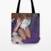 gemma Tote Bags featuring Gemma by Wolf & Owl