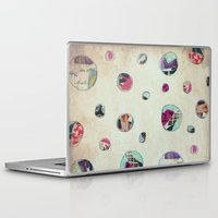 antique Laptop & iPad Skins featuring Circles (antique) by Natalie Baca