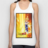 dragonball z Tank Tops featuring Vegeta Dragonball Z best idea by customgift