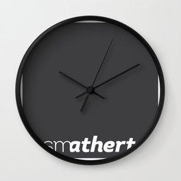 smatherton logo Wall Clock
