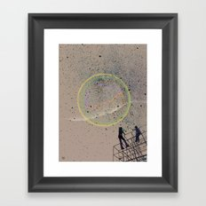 sometimes we just need a lift Framed Art Print
