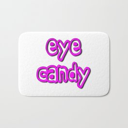 Eye Candy Bath Mat