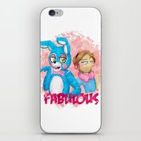 fnaf iPhone & iPod Skins featuring fabulous! by Maria Daregin