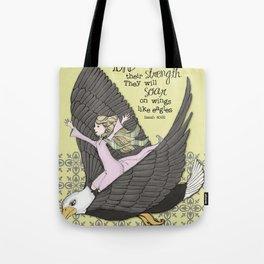 Isaiah Eagle Tote Bag