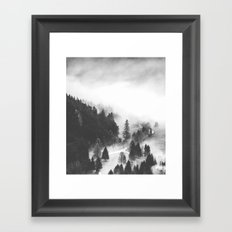 Valley Of Secrets #society6 Framed Art Print