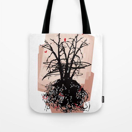 Birds and the Sky Tote Bag