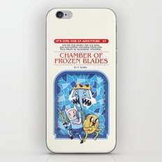 It's Time For An Adventure! iPhone & iPod Skin