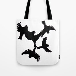 Bird Flight Tote Bag
