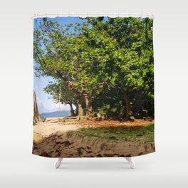 Beach Lookout Shower Curtain