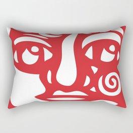 Cara Roja Rectangular Pillow