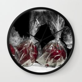 Toffee Apples Wall Clock