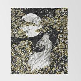 The Stargazer's Dream Throw Blanket